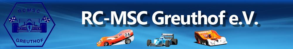 RC-MSC Greuthof e.V.